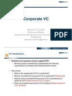 Corporate VC