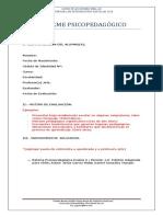Formato Informe Psp