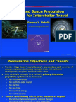 Adv Space Propulsion for Interstellar Travel