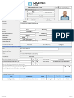 Maersk Line Application FormBasenko D