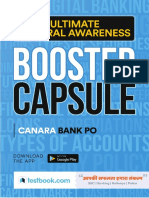 Fcc1fc06 Ultimate Banking Awareness Booster Capsule for Canara Bank Po 2018 Final Compressed