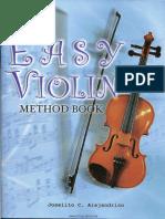 Easy Violin Method Book