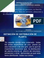 SESION 09 Infraestructura en El Área de Procesos en Función Del Tipo de Equipos. Área de Servicios Almacenes y de Efluentes.