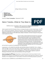 CUNNINGHAM_Saturn Transits—What Do They Mean to Your Career