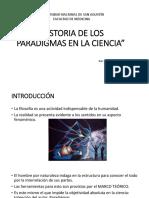 Historia de Los Paradigmas en La Ciencia