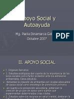 Autoayuda y Apoyo Social