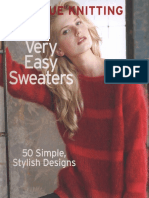 Knitting Very Easy Sweaters