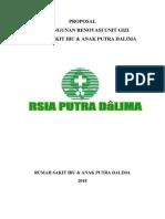 Proposal Pembuatan Unit Gizi