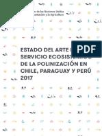 Estado Del Arte Polinizadores-Chile