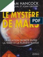 Hancock Graham - Bauval Robert - Grigsby John - Le mystère de Mars.pdf