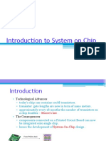 Introduction to System on Chip