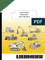 Liebherr L544-443 Wheel Loader Service Repair Manual SN:7477.pdf