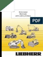 Liebherr L509S-789 Wheel Loader Service Repair Manual SN:9099.pdf