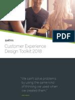 Customer Experience Design Toolkit 2018 Apj Qualtrics
