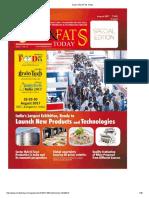 Saarc Oils & Fats Today17 AUG