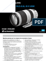 Manual Canon EF 100-400L is II USM