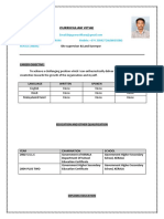 Updated Resume GR BIJU