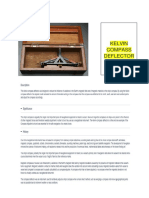 Kelvin Compass Deflector