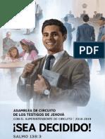 Libreta de Notas Asamblea de Circuito