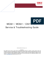 Oki MC361 Service manual