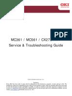 Oki MC361 Service manual
