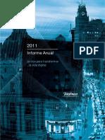 Telef - Informe Anual 2011