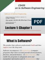 Software Engineering CH 1 Slides