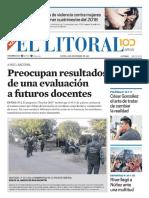 El Litoral Mañana 24-12-2018