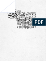 Giesbert Schule für die Barocklaute / Giesbert Baroque Lute Tutor / Schott Söhne 1940