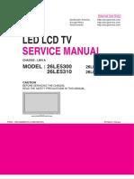 Lg26le5300 Service Manual