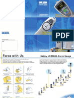 IMADA Catalog contact force measurement