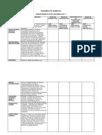 Cronograma de Evaluaciones 2016 - i