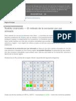 01. Técnicas Sudoku Webs