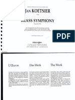 Jan Koestier, Brass Symphony