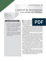 CAP08 Taxa Natural de Desemprego e a Curva de Phillips - OlivierBlanchard5aEd