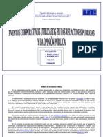 Opinion Publica y Eventos Corporativos Utilizados en Las Relaciones Publicas