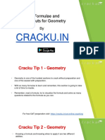 Geometry Formulas Cracku