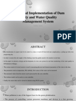 Dam Safety and Water Quality