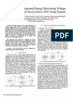 X-Approach to Integrated Energy Harvesting Voltage Source Based on Novel Active TEG Array System