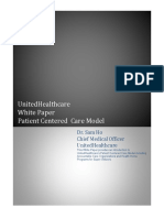 White Paper Patient Centered Care Model