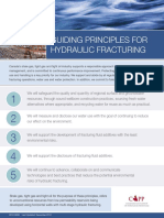 Hydraulic Fracturing Guidlines