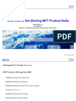 IBM Sterling MFT Products Overview