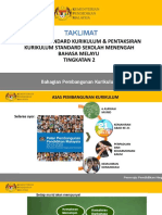 Taklimat DSKP KSSM BM Tingkatan 2 2017