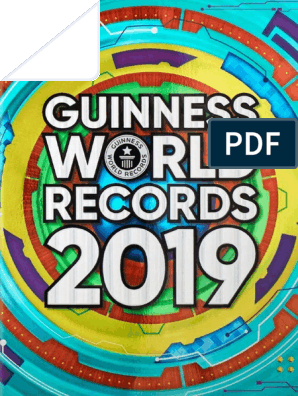 Guinness World Records 2019 Leisure Nature