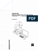 manual de usuario Cámara de Fondo de Ojo