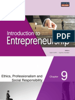 Chapter9-Ethics, Professionalism and Social Responsibility
