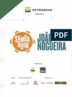 Sambabook do João Nogueira