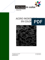 Acero able Color the Inox in Color