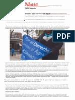 La lucha de una salvadoreña por un vaso de agua (Pikara Magazine, 22-03-17, El Salvador)