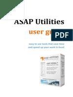 ASAP Utilities User Guide